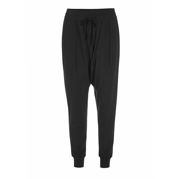 Amethyst Trousers - weite Baggy-Pant von Essenza in Black
