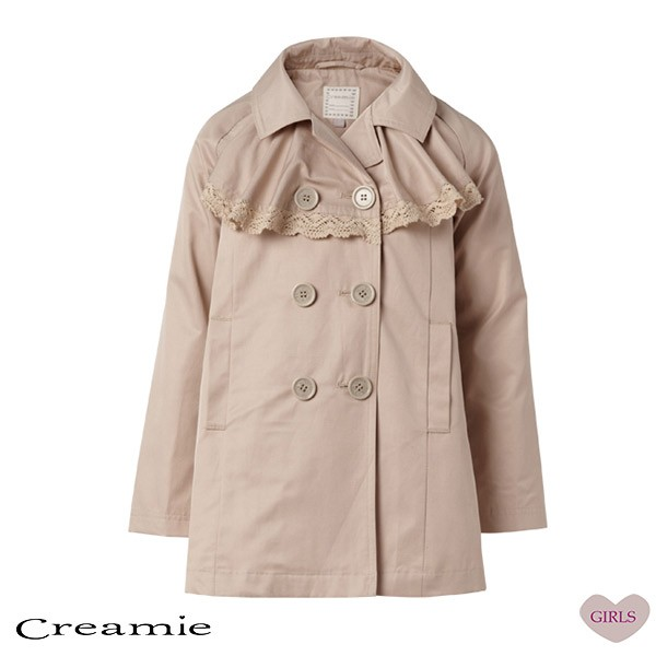 Isabella Trench Coat in Spring Tan
