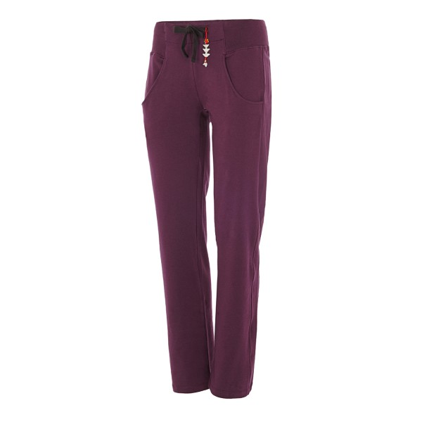 The L.A. Pant von Mandala in Plum
