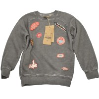 Lässiger Sweater mit coolen Patches für Boys von Please in Lavagna