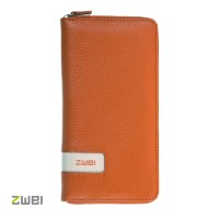 ZWEI Wallet W2 - lange Geldbörse in Orange